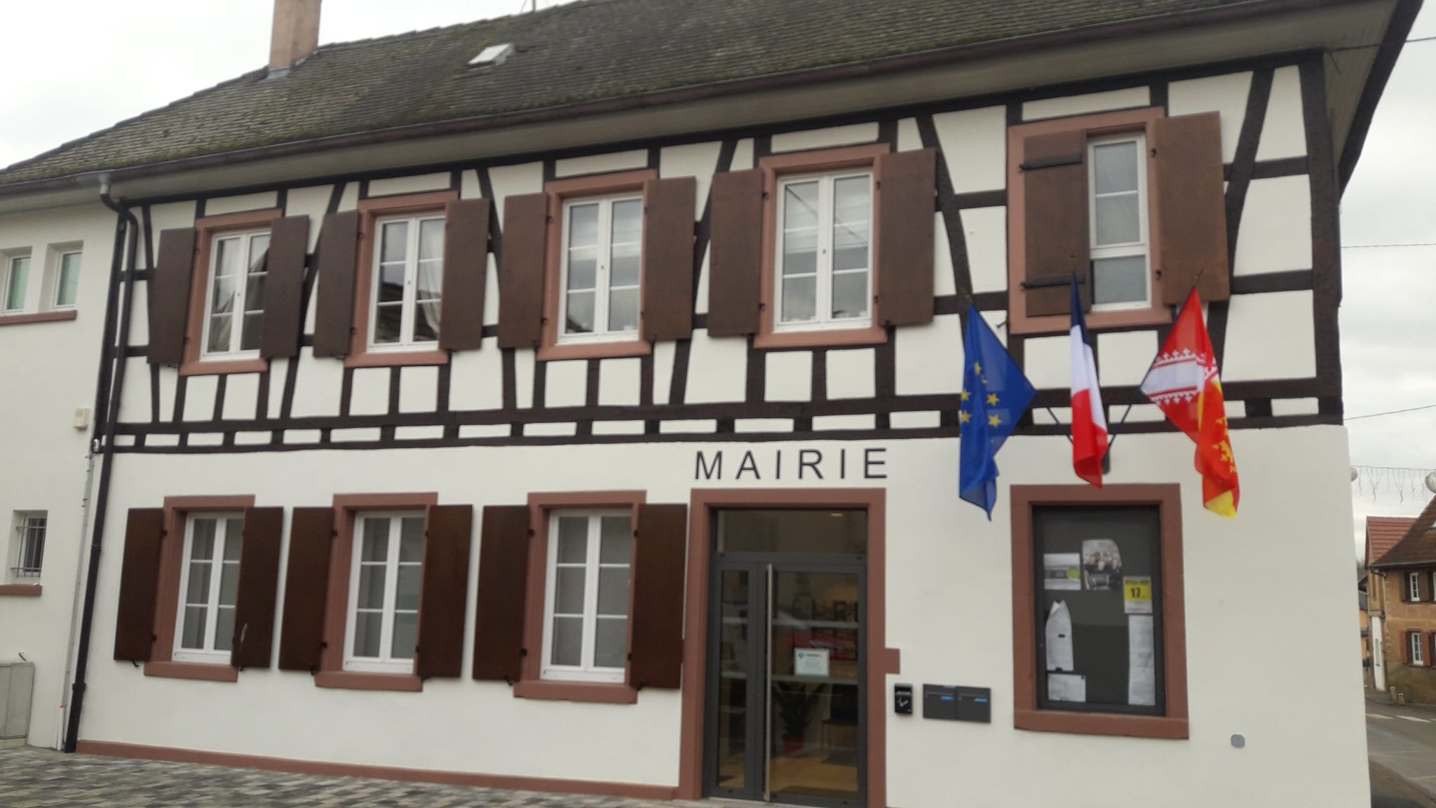 Photo de la mairie de Mittelschaeffolsheim