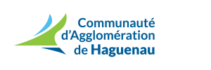 logo communauté d'agglomérations de Haguenau